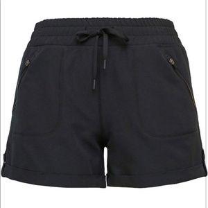 Tangerine Shorts - NEW Tangerine Black Active Woven Track Short